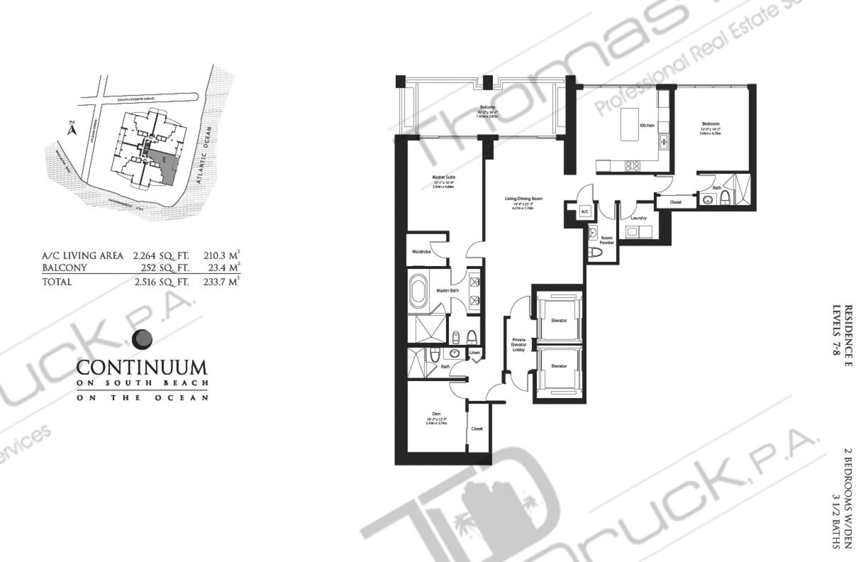 continuum ii north miami immobilien immobilien in miami deutscher immobilienmakler. Black Bedroom Furniture Sets. Home Design Ideas